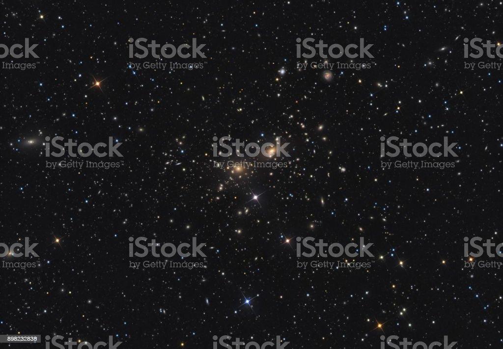 1000 Galaxien in einem Bild - Koma Super Galaxy Cluster – Foto