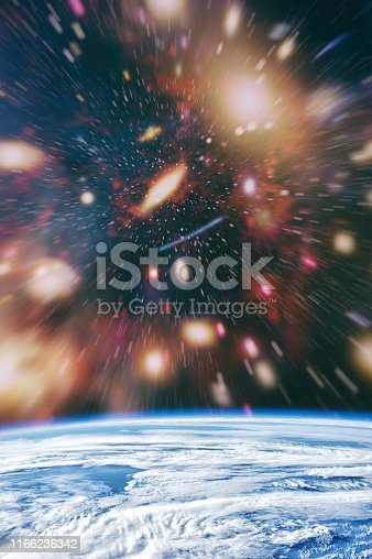istock Galaxy creative background. Starfield stardust and nebula space. background with nebula, stardust and bright shining stars. Elements of this image furnished by NASA. 1166236342