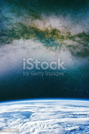 istock Galaxy creative background. Starfield stardust and nebula space. background with nebula, stardust and bright shining stars. Elements of this image furnished by NASA. 1166236911
