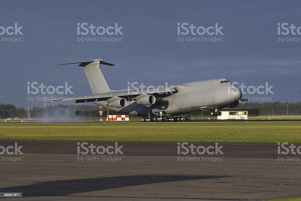 C-5 Galaxy Landing stock photo