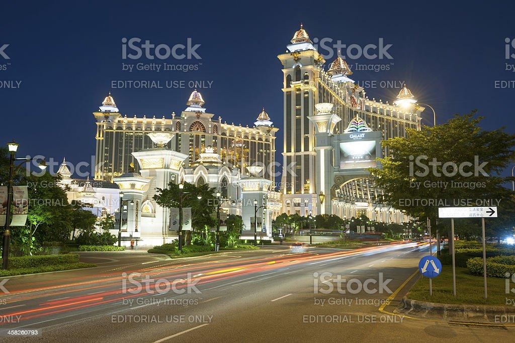 Galaxy Macau Casino, Cotai Macao stock photo