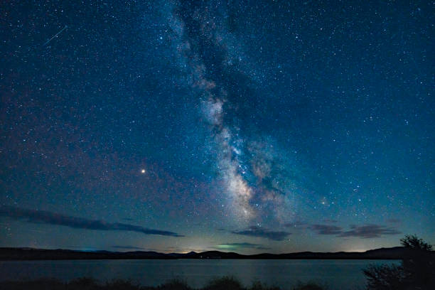 Galaxy Beautiful galaxy milky way stock pictures, royalty-free photos & images