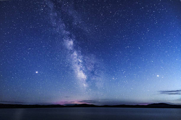 Galaxy Beautiful galaxy twilight stock pictures, royalty-free photos & images