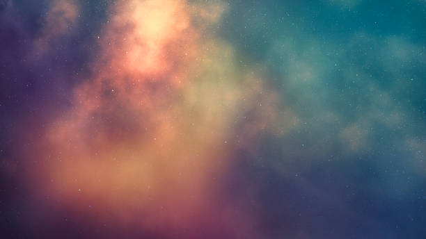 galaxy space backgrounds stock photo