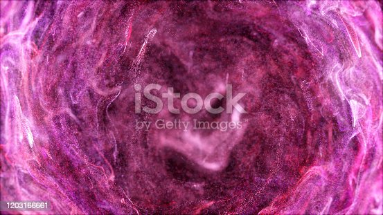 1038727610istockphoto galaxy:Liquid shapes abstract holographic 3D wavy background 1203166661