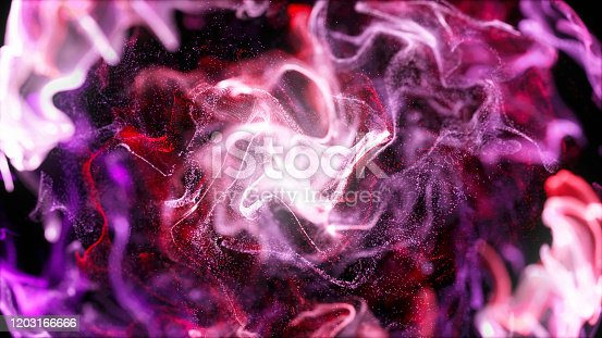 1038727610istockphoto galaxy:Liquid shapes abstract holographic 3D wavy background 1203166666