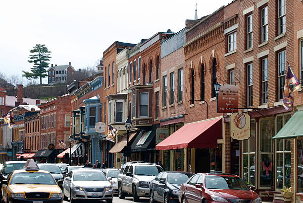 Galena stock photo