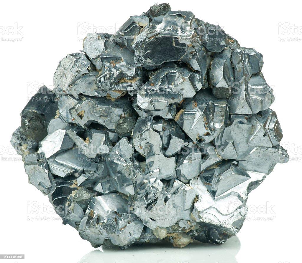 Galena (galenite mineral) stock photo