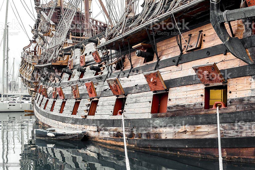 Galeone Neptune ship royalty-free stock photo