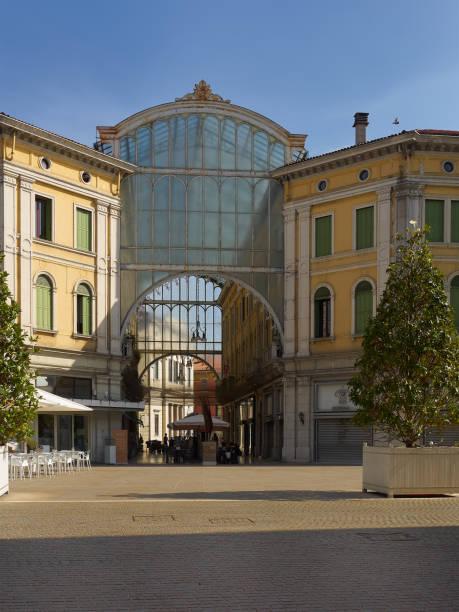 Galeria Matteotti in Mestre, Metropolitan City of Venice, Italy stock photo