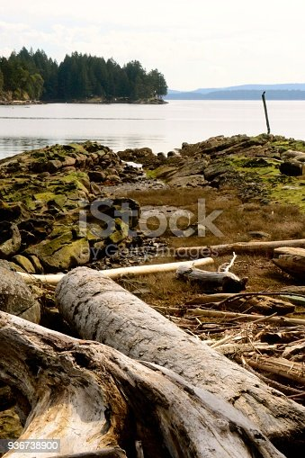 Galiano Island Stock Photo & More Pictures of Anchor - Vessel Part