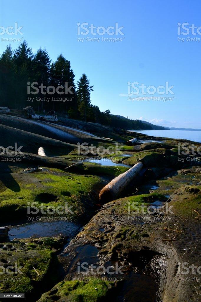 Galiano Island stock photo