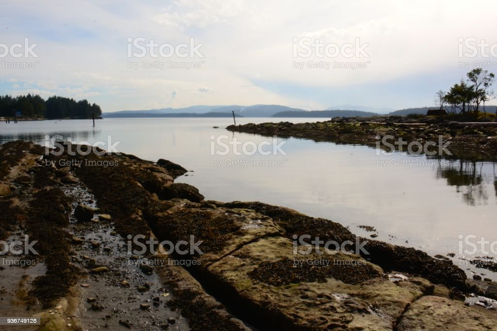 Galiano Island royalty-free stock photo