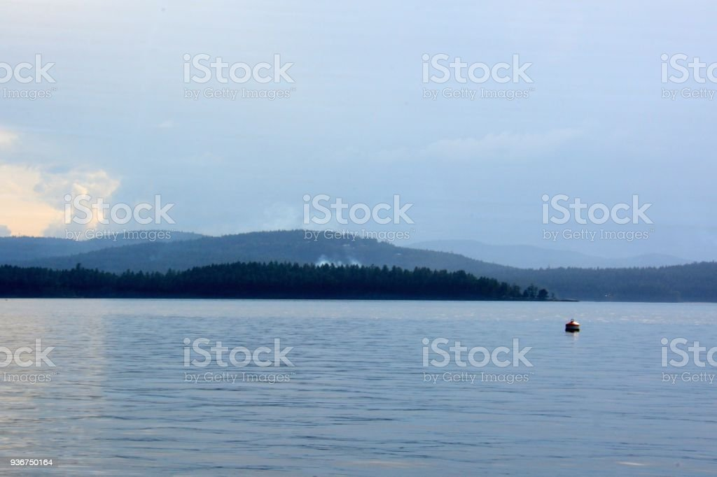 Galiano Island royalty-free stock photo