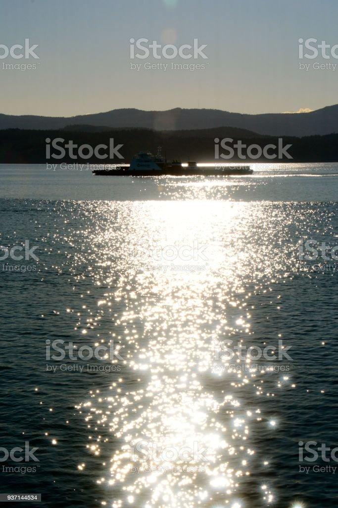 Galiano stock photo