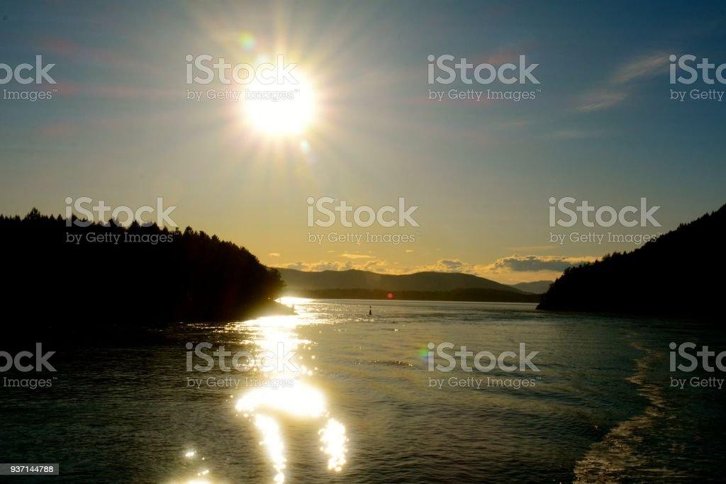 Galiano royalty-free stock photo