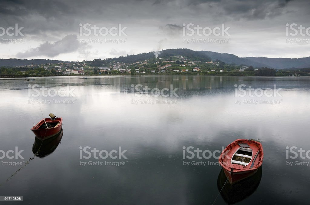 Galicia lanscape royalty-free stock photo