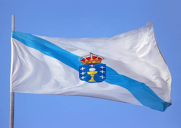 Galicische Flagge – Foto