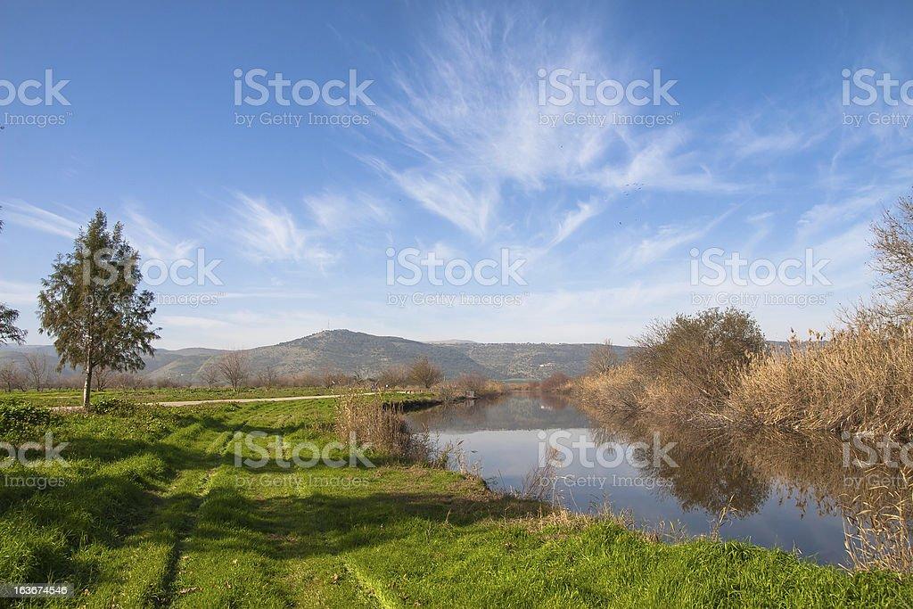 Galilee, Israel royalty-free stock photo