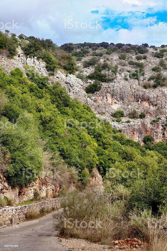 Galilee view stock photo
