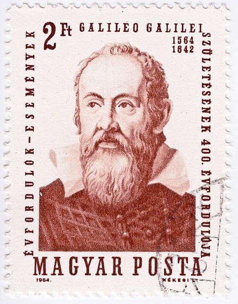 Galileo Galilei A Magyar stamp of Galileo Galilei galileo galilei stock pictures, royalty-free photos & images