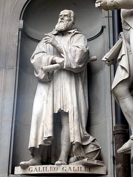 Galileo Galilet Galileo in Florence galileo galilei stock pictures, royalty-free photos & images