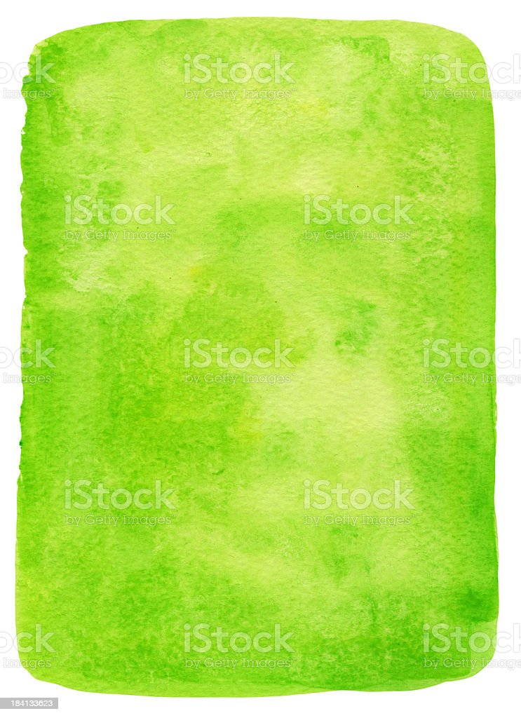 Galitzien Green Watercolour Background royalty-free stock photo