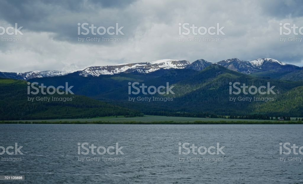 Gallatin National Forest stock photo