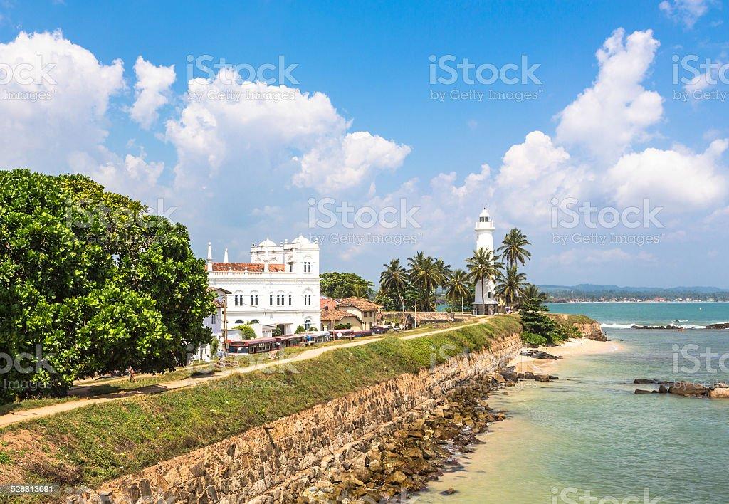 Galle fort, Sri Lanka royalty-free stock photo