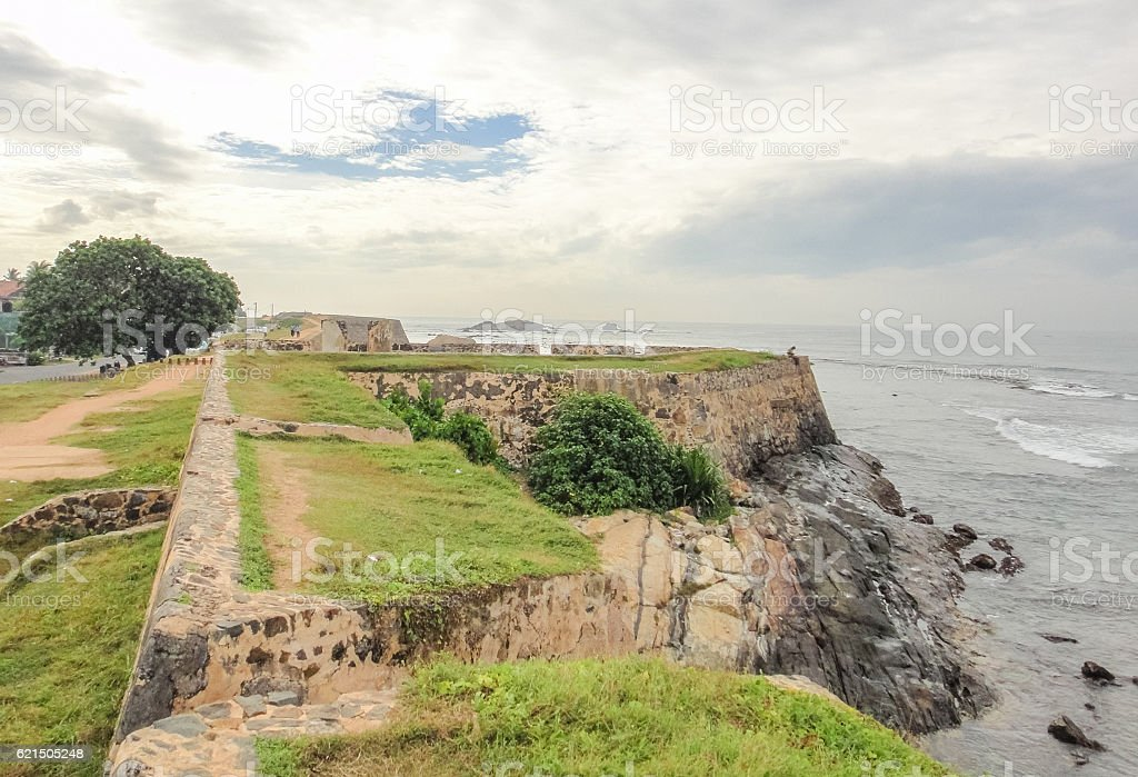 Fort de Galle. Sri Lanka photo libre de droits