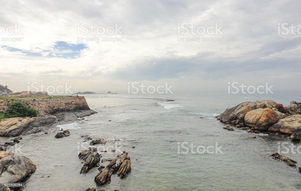 Fort de Galle. Sri Lanka photo libre de droits