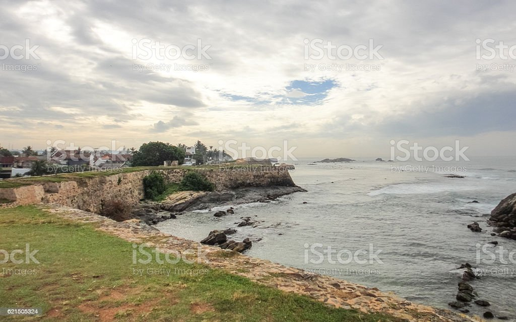 Festung Galle. Sri Lanka Lizenzfreies stock-foto