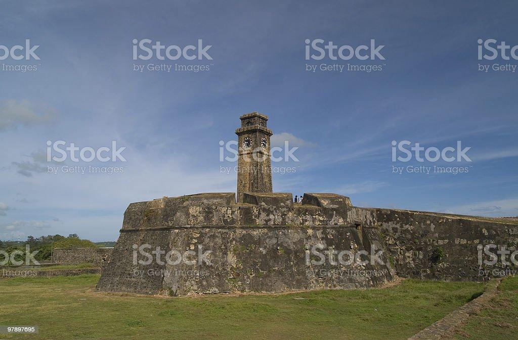Galle fort, Srilanka royalty-free stock photo