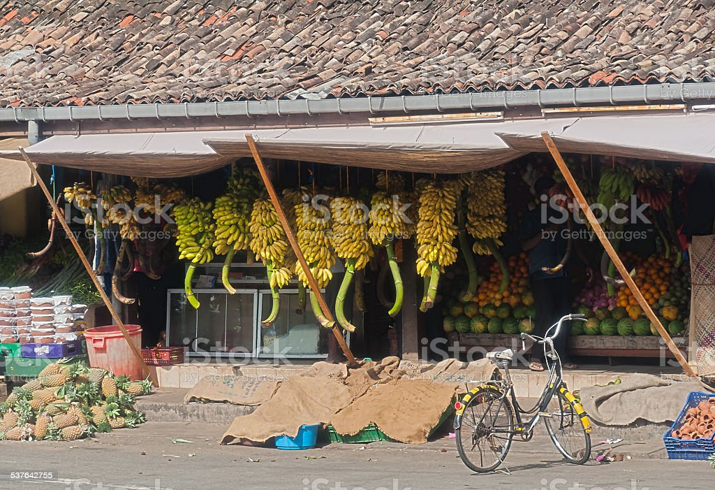 Galle fruit and Vegtable market stock photo