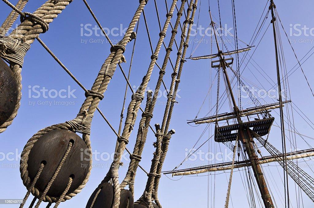Galleon stock photo