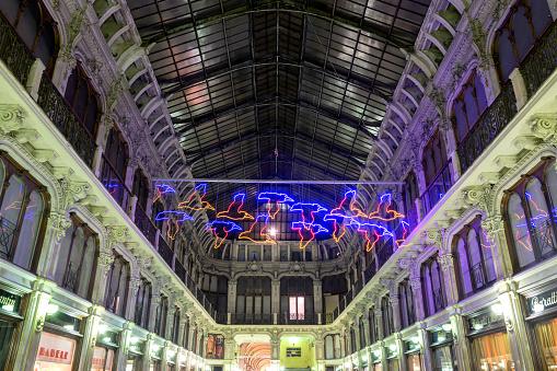 Galleria Subalpina in Turin, Italy