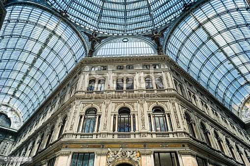 Galleria Umberto I is a public shopping gallery in Naples, southern Italy. It is located directly across from the San Carlo opera house. It was built between 1887–1891, and was the cornerstone in the decades-long rebuilding of Naples — called the risanamento (lit.