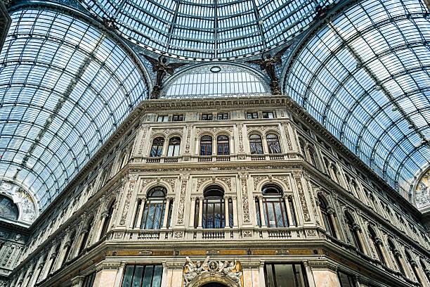 Galería Umberto I, Napoli - foto de stock