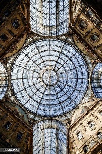 Galleria Vittorio Emanuele II dome and buildings