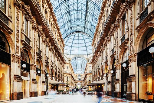 Galleria Vittorio Emanuele II in Milano, Italy