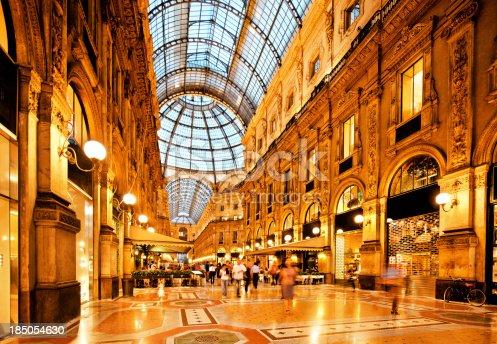 istock Galleria Vittorio Emanuele II, Milan 185054630