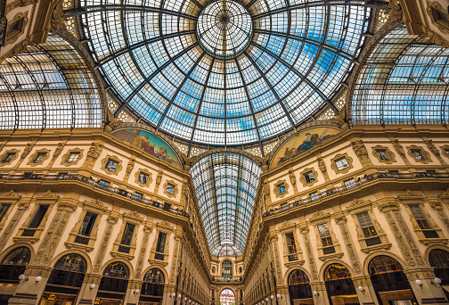 istock Galleria Vittorio Emanuele II shopping arcade, Milan, Italy 600997088