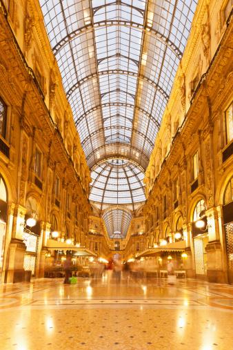 Galleria Vittorio Emanuele Milan Italy Luxury Shopping ...