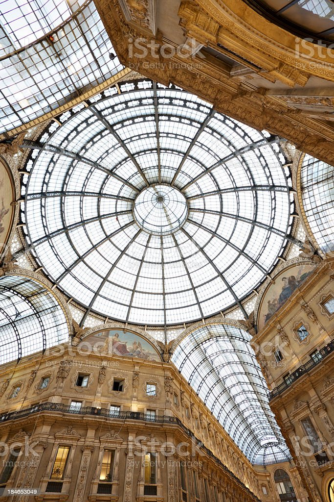 Galleria Vittorio Emanuele stock photo