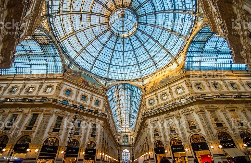 Galleria Vittorio Emanuele - foto stock