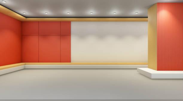 galerie art minimal und zeitgenössische an wand anzeigen gemütliche design - zeitschrift wandkunst stock-fotos und bilder