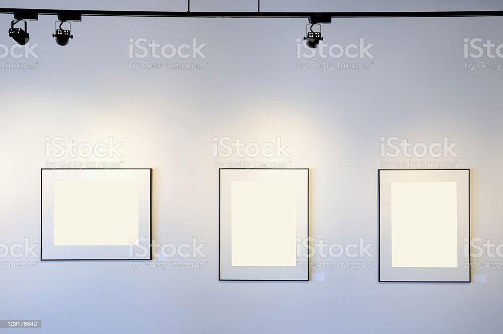 Gallery Exhibition stock photo
