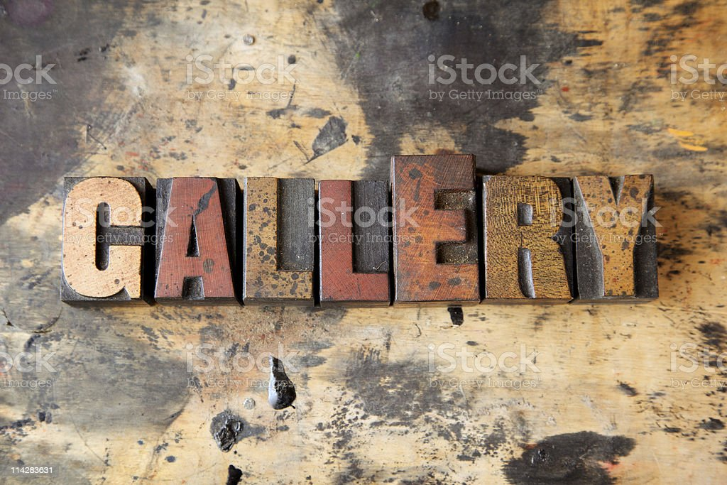 GallEry... royalty-free stock photo