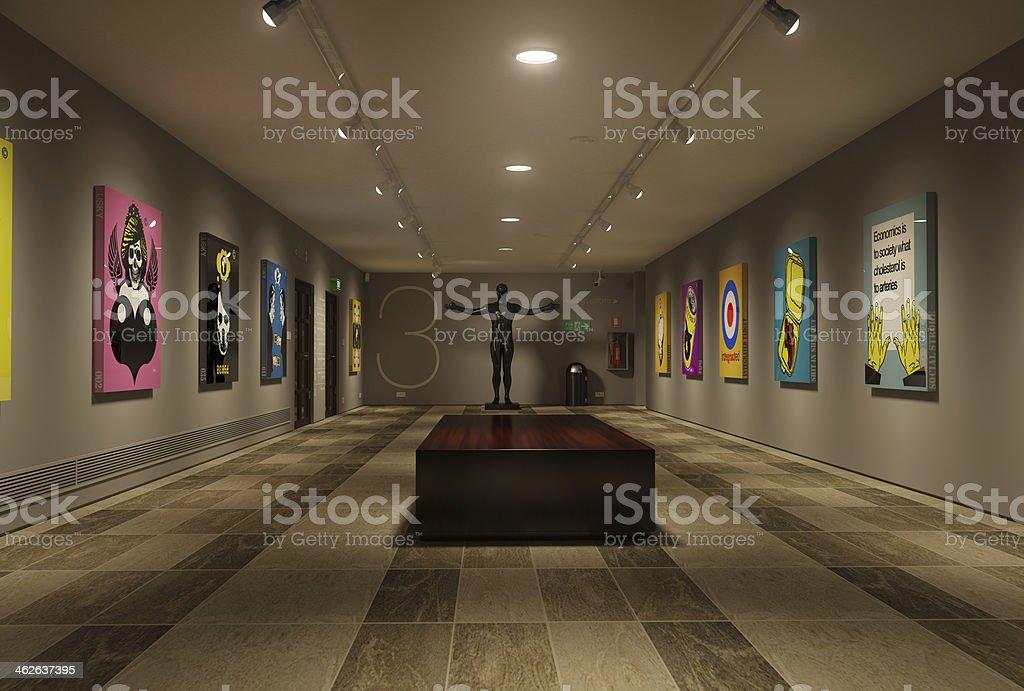 Gallery - foto de acervo