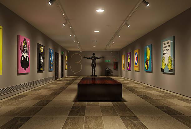 gallery - museu imagens e fotografias de stock
